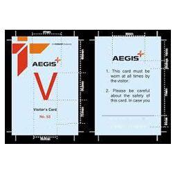 pvc visitors card polyvinyl chloride card प व स क र ड
