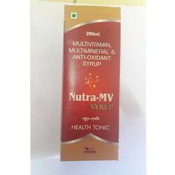 Multivitamin Multimineral and Anti Oxidant Syrup