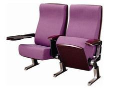Aluminium Alloy Leg Auditorium Chair