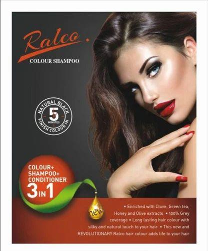 Ralco Black Hair Colour Shampoo