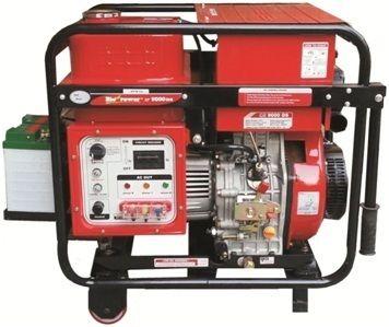 3 Phase Generator >> Three Phase Portable Non Silent Dg Generator Power 7 5 Kva Rs