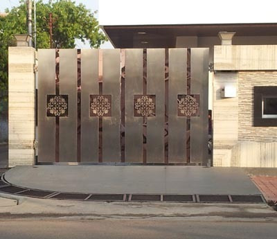 Stainless Steel Main Gate. Stainless Steel Main Gate at Rs 4800  square feet   SS Gate