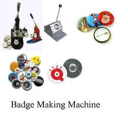 Badge Making Machine - Badges Machine