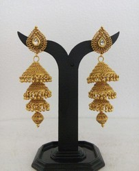72c6947804832 Gold Jhumkas at Best Price in India