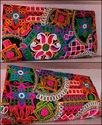 Bagzvela Multicolor Kutch Embroidered Clutch