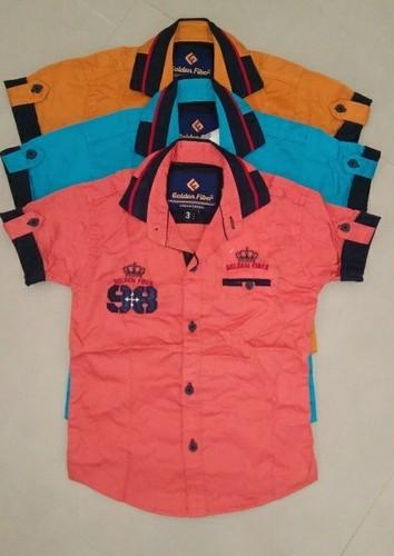 Boys Kids Cotton Shirts