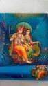4 Color Radha Krishna Wedding Card