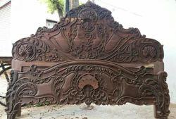 Cot Wood Bed Headboard