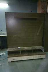 Wooden TV Set