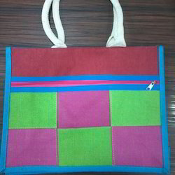 MultiColoured Jute Bags