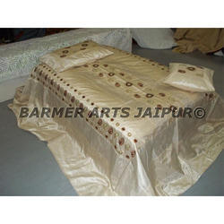 Designer Embroidery Bed Cover