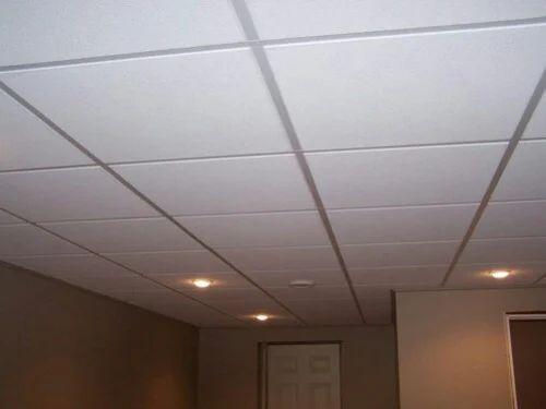 Asbestos Cement And Fiberglass False Ceiling Tiles Rs 55