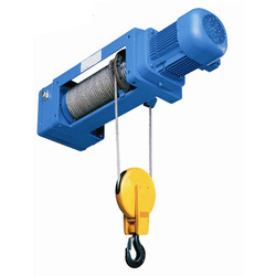 Electric Wire Rope Hoist, Material Handling Equipments   A Wing ...