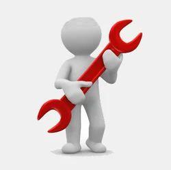 Technician Providing Services