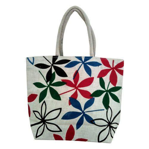 ec9de9b072 Jute Ladies Bags - Printed Fancy Jute Bag Manufacturer from Kolkata