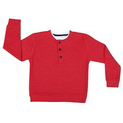 Kids Knitted Full Sleeve Shirt