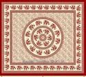 Printed Cotton Tree Branches Cotton Tapestries, Indian Bedspreads