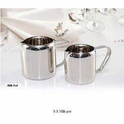 S.S Milk Pot