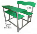School Primary Deco Iron Desk