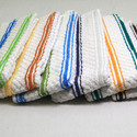 Popcorn Kitchen Towels In Yarn Dyed