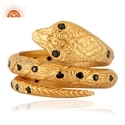 Zircon Gemstone Snake Fashion Rings