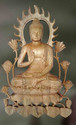 Buddha-Trigya Wooden Sculpture