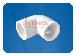 King 90 Degree UPVC Elbow, for Chemical Fertilizer Pipe, Packaging Type: Box