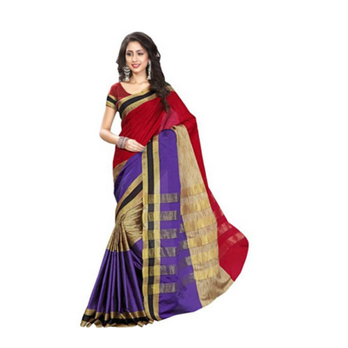 5cdc0b963 Stylish Chanderi Cotton Saree at Rs 399  piece