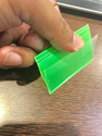 Double Sided Poly Vinyl Chloride Data Strips
