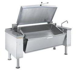 GK SS Tilting Braising Pan For Bulk Cooking, Gravy, Capacity: 50 To 250 Ltrs