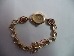 Watch of Kundan Meena Jewelry