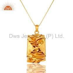 Indian Designer Gold Plated Chain Pendant