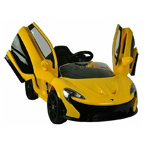 Boys Mclaren Licensed Battery Operated Ride On Car For Kids