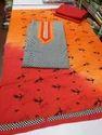 Orange Churidar Suits