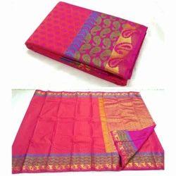 Silk Half fine Zari Gold Indian Sarees, With Blouse Piece, 5.5 M (separate Blouse Piece)