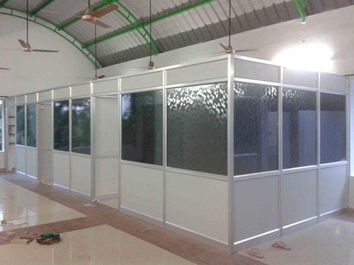 Aluminium Wall Partition At Rs 220 Square Feet S