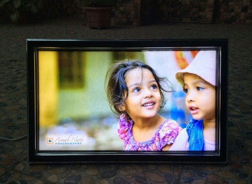 Classic L LED Backlit Photo Frame at Rs 640 /piece   Led Photo Frame ...