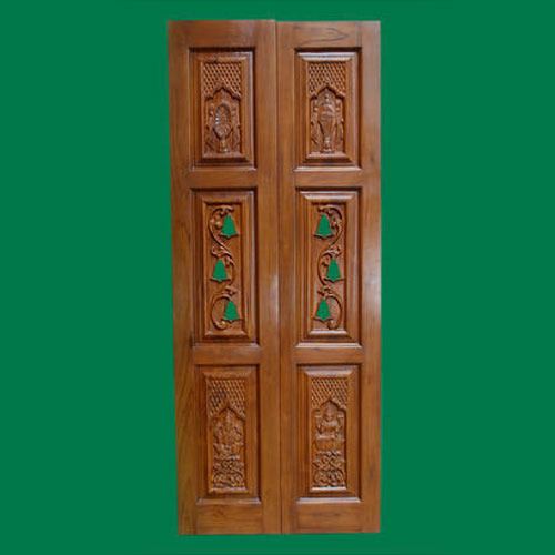 Brass Modern Pooja Room Door Furniture Rs 17500 Piece Sri Nature