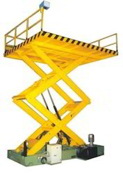 Flame Proof Hydraulic Scissor Lift