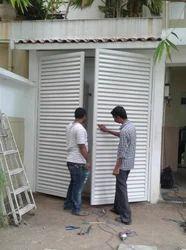 Aluminium Louvers Doors