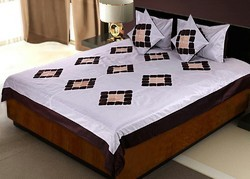Silk Bedlinen Cushion N Pillow Covers Set 425