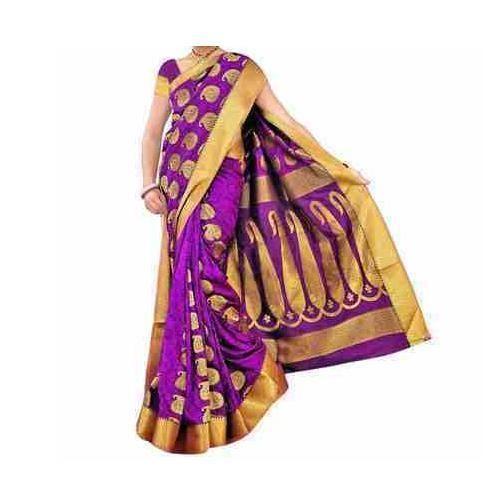 2c166fdb3 Kanchipuram Wedding Silk Saree at Rs 4000  piece(s)