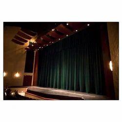 motorized auditorium curtain
