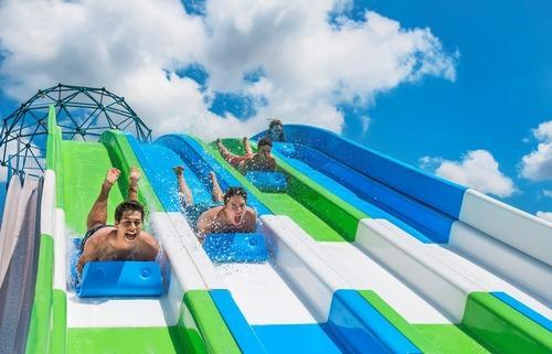 Multilane Water Slide