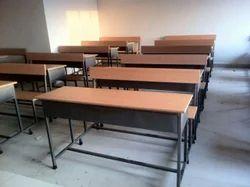 Capella Three Seater School Desk