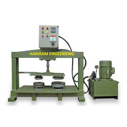 Semi Automatic Silver Paper Plate Making Machine