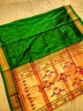 Double Pallu Pure Silk Paithani Sarees