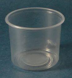 Round Plastic Transparent Container