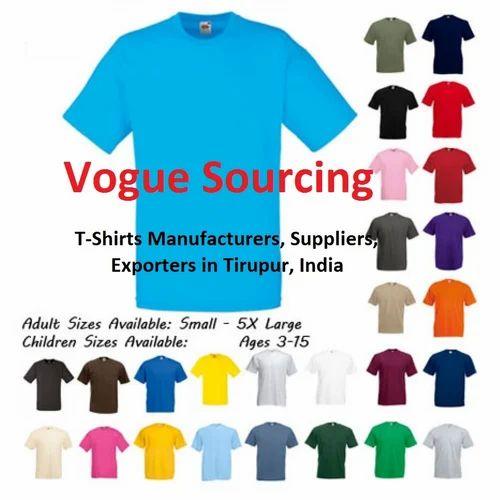 ce89152d8 Tee Shirt at Rs 130 /piece(s) | Tiruppur | ID: 11671147830