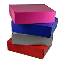 Multi Colored Packaging Box